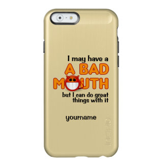 Bad Mouth custom cases