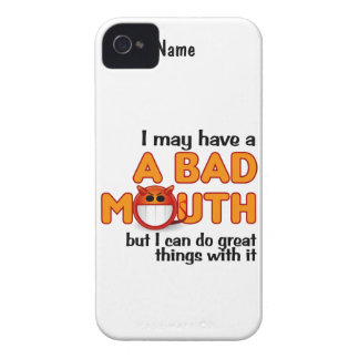 Bad Mouth custom iPhone 4 Case-Mate