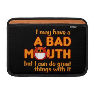 Bad Mouth iPad / laptop sleeve