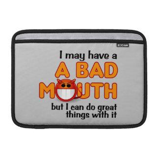 Bad Mouth iPad / laptop sleeve MacBook Sleeve