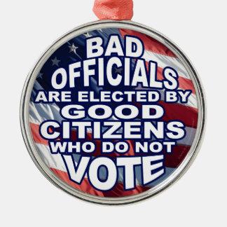 Bad Officials Christmas Ornament