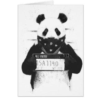 Bad panda card