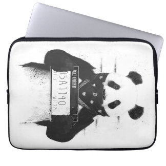 Bad panda laptop sleeve