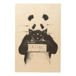 Bad panda wood prints
