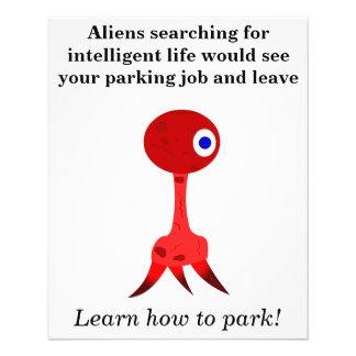 Bad Parking Joke Flyer