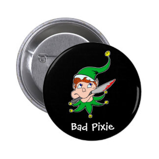Bad Pixie Button