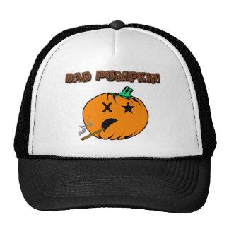 Bad Pumpkin Trucker Hats
