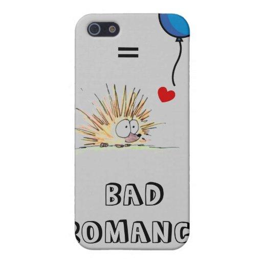 Bad Romance - Porcupine & Balloon iPhone 5 Cover