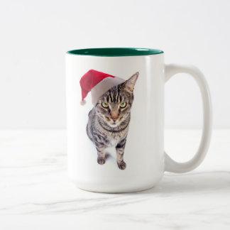 Bad Santa Cat Mug