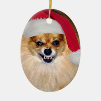 Bad Santa Christmas ornament