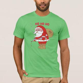 Bad Santa Funny Christmas Mens T Shirt, Shirts