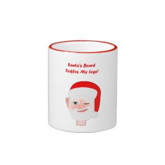 Bad Santa! Ringer Coffee Mug