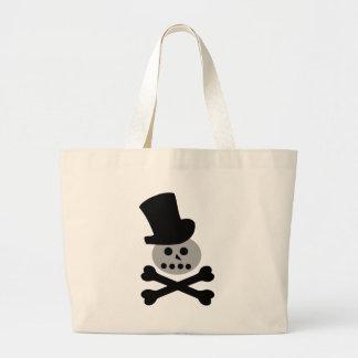 bad snowman jumbo tote bag