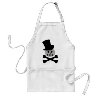 bad snowman standard apron