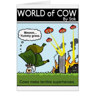 Bad Superheroes Card