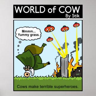 Bad Superheroes Posters