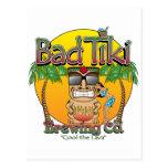 Bad Tiki Brewing Company Postcard