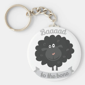 Bad To Bome Keychains