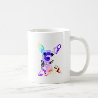 Bad to the Bone Chihuahua Coffee Mug