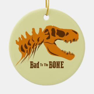 Bad to the Bone Christmas Ornament