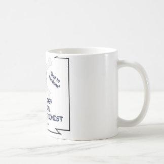 Bad to the Bone Radiology Medical Transcriptionist Coffee Mug