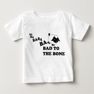 Bad to the Bone Sheep. Baby T-Shirt