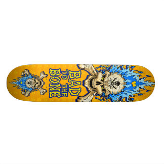 Bad to the Bone Skull Skate Deck
