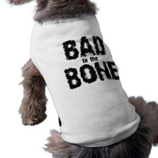 Bad to the Bone Sleeveless Dog Shirt