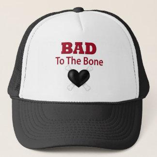Bad to the bone trucker hat