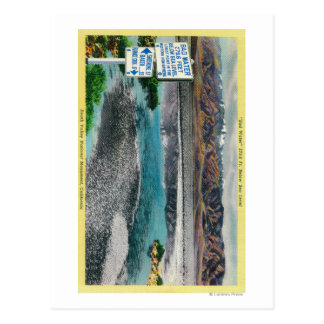 Bad Water at Death Valley National Monument Postcard