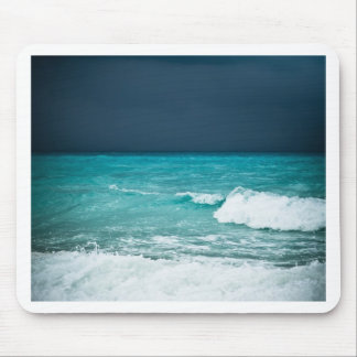 Bad weather seascape mouse pad