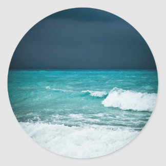 Bad weather seascape stickers