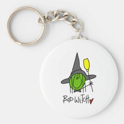Bad Witch Key Chain