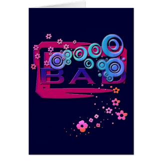 Bad Word Greeting Card