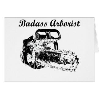 Badass Arborist - Chainsaw Card