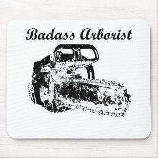 Badass Arborist - Chainsaw Mouse Pad