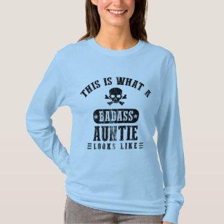 Badass Auntie Looks Like T-Shirt