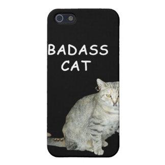 Badass Cat I-Phone 3 Case iPhone 5/5S Case