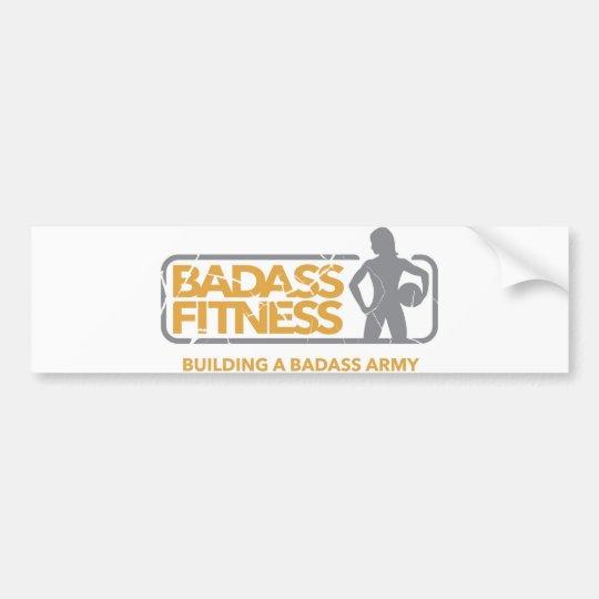 Badass Fitness Bumper Sticker