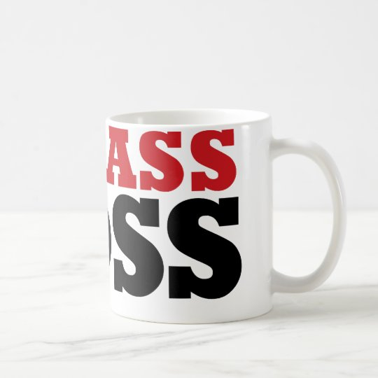 Badass Funny Boss Coffee Mug