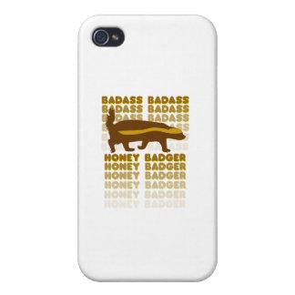 Badass Honey Badger iPhone 4 Cases