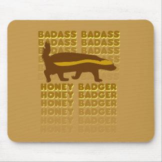 Badass Honey Badger Mouse Pad