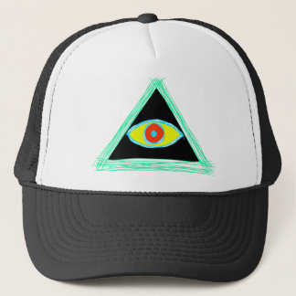 Badass Illuminati Trucker Hat