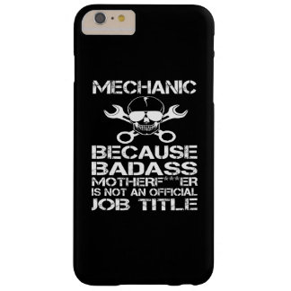 BADASS Mechanic Barely There iPhone 6 Plus Case