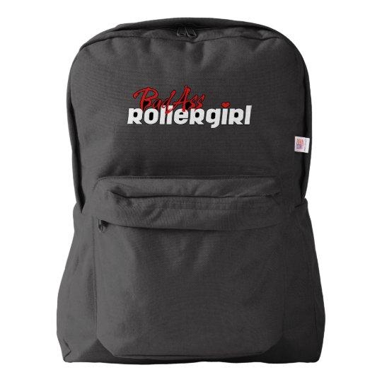 BadAss Roller Girl, Roller Derby, Skating Backpack