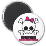 Badass Sailor's Girl Fridge Magnets
