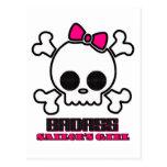 Badass Sailor's Girl Post Cards