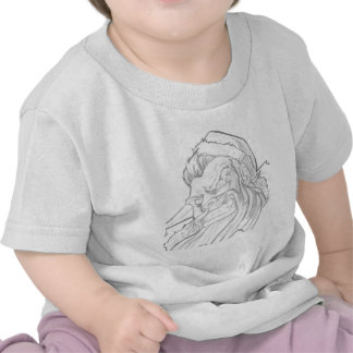 Badass Santa Claus with an evil smile Shirts