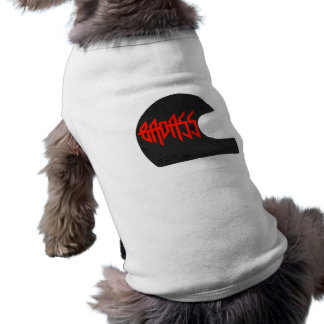 Badass Sleeveless Dog Shirt