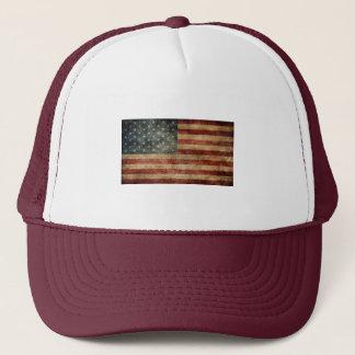 badass us-flag hat design bad to the bone design